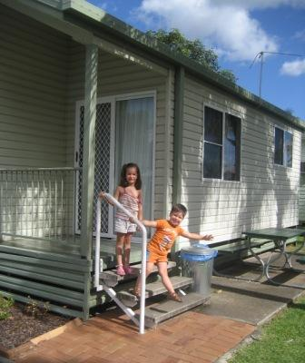 Cabin at Big4 Caravan Park Aspley